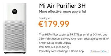 čistička vzduchu Xiaomi Mi Air Purifier 3H