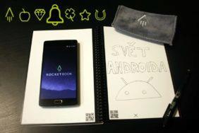 cyhtrý zápisník Rocketbook Everlast Executive recenze