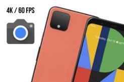 Fotoaparát Google 4K 60 FPS