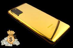 galaxy s20 gold zlatý