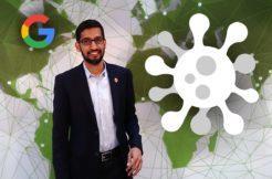 Google Alphabet koronavirus reakce