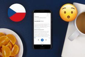 Google Asistent hlasité čtení webů