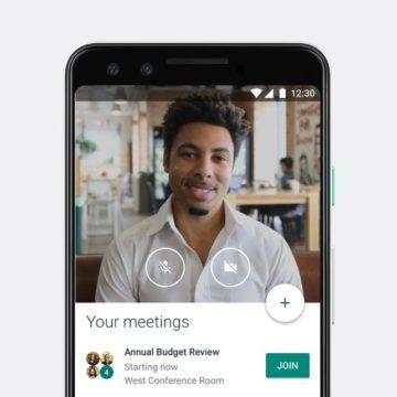 Google koronavirus Hangouts Meet