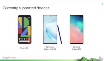 Google Pixel 4 Galaxy S10 aktualizace