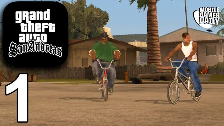GRAND THEFT AUTO San Andreas Mobile - Gameplay Story Walkthrough Part 1 (iOS Android)