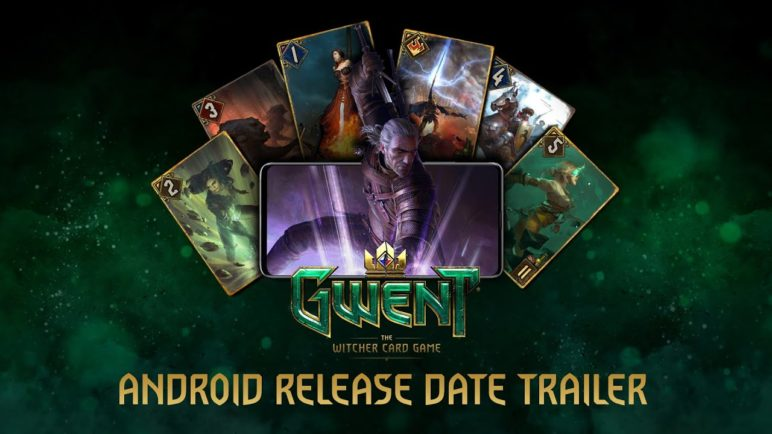 GWENT: The Witcher Card Game | Android Release Date Trailer