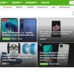 homepage Svět Androida náhled desktop