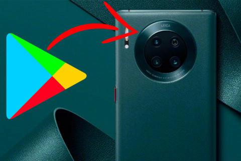 Huawei google aplikace