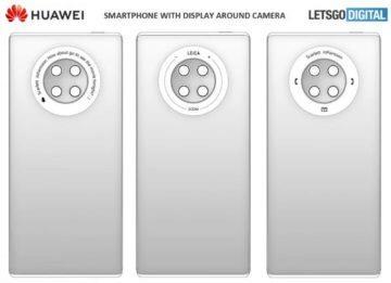 Huawei kruhové ovlávání na zádech 2