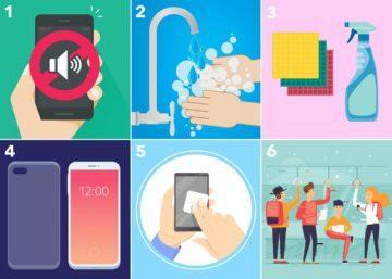 jak dezinfikovat mobilní telefon a chránit se tak před koronavirem