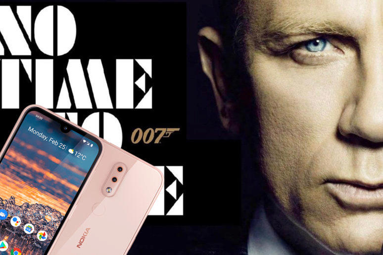 james bond no time to die nokia telefon