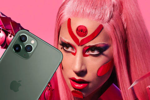 Lady Gaga videoklip iPhone 11 Pro