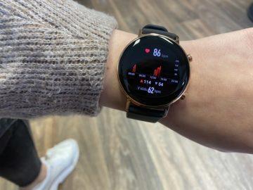 měření tepu huawei watch