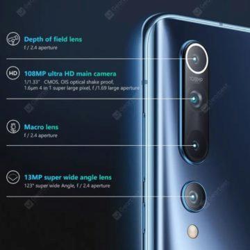 Xiaomi mi10 fotoaparat