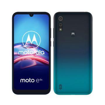 Motorola Moto e6s Peacock Blue 1