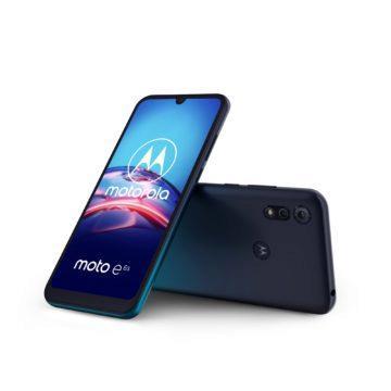 Motorola Moto e6s Peacock Blue 2