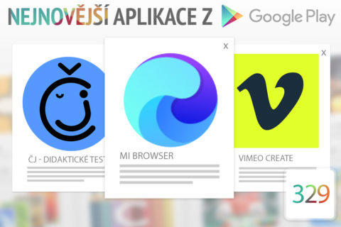 Nejnovější aplikace z Google Play #329: webový prohlížeč od Xiaomi