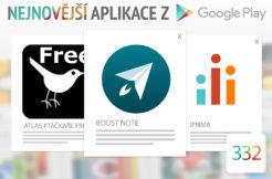 Nejnovější aplikace z Google Play #332: noste poznámky v mobilu