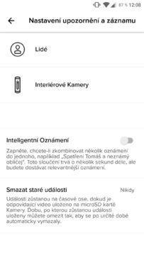 Netatmo Security aplikace 3