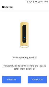 Netatmo Security aplikace přidávání kamery 5