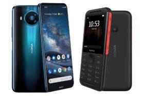Nokia telefony 2020