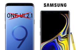 One UI update Galaxy S9 Note 9