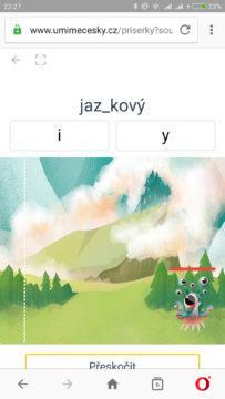 online procvičování českého jazyka