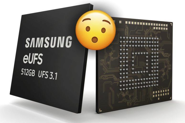 paměti Samsung eUFS 3.1