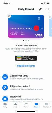 platební karta revolut