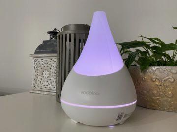podsvícený aromadifuzér