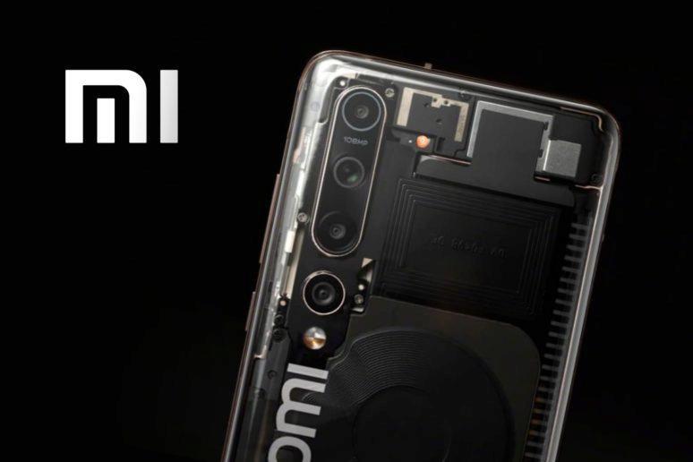 průhledný telefon Xiaomi Mi 10 Explorer Edition