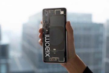 průhledný Xiaomi Mi 10 Explorer Edition leak 1