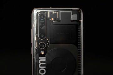 průhledný Xiaomi Mi 10 Explorer Edition leak 4