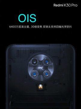 Redmi K30 Pro fotoaparáty 1