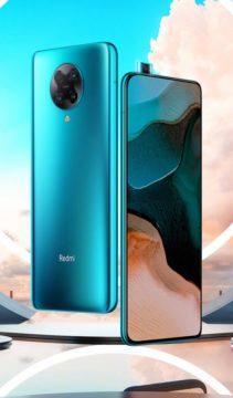 Redmi K30 Pro modrá