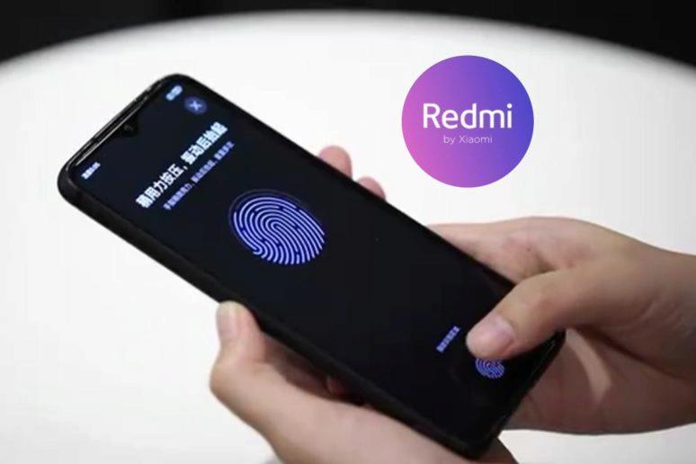 Redmi otisk prstu LCD