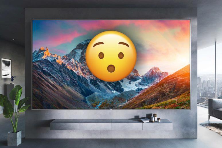 Redmi Smart TV MAX 98 center