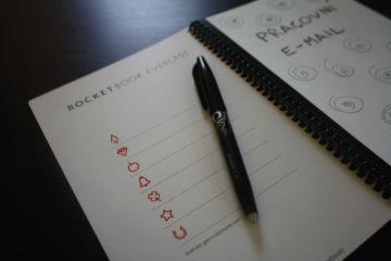 Rocketbook Everlast nabídka piktogramů 1
