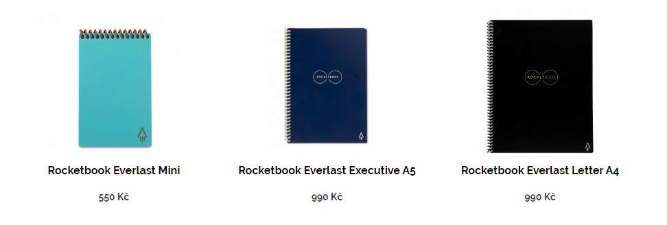 Rocketbook Everlast varianty