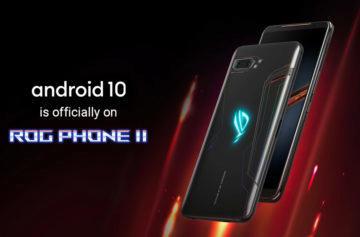 ROG Phone II Android 10