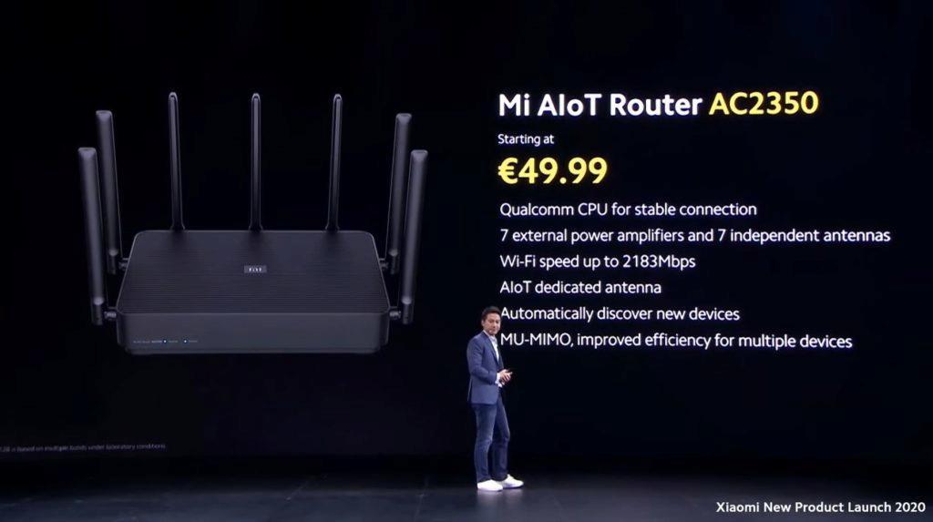 router Xiaomi Mi AIoT Router AC2350 cena