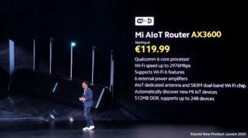 router Xiaomi Mi AIoT Router AX3600 cena