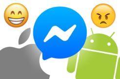 rychlejší Messenger iOS ano Android ne