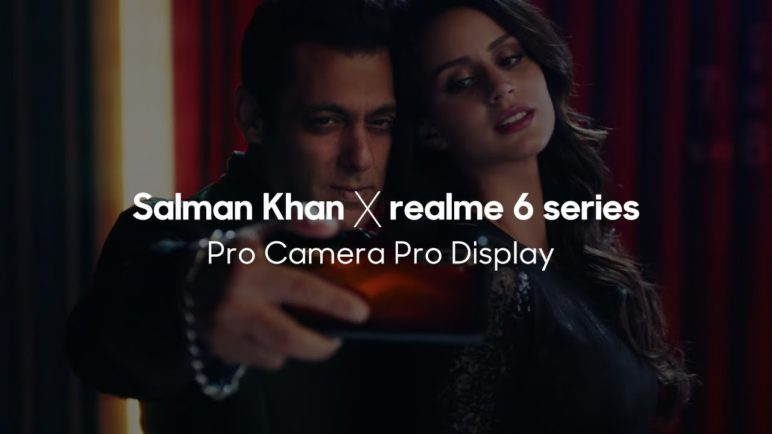 Salman Khan x realme 6 series | Pro Camera Pro Display