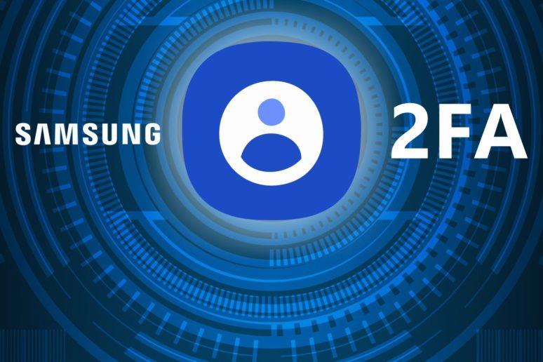 Samsung Account povinná 2FA