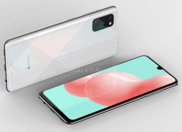 Samsung Galaxy A41 render 1