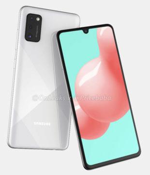 Samsung Galaxy A41 render 2