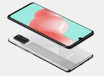 Samsung Galaxy A41 render 4
