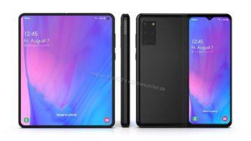 Samsung Galaxy Fold 2 Waqar Kahn render 1