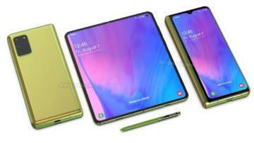 Samsung Galaxy Fold 2 Waqar Kahn render 3